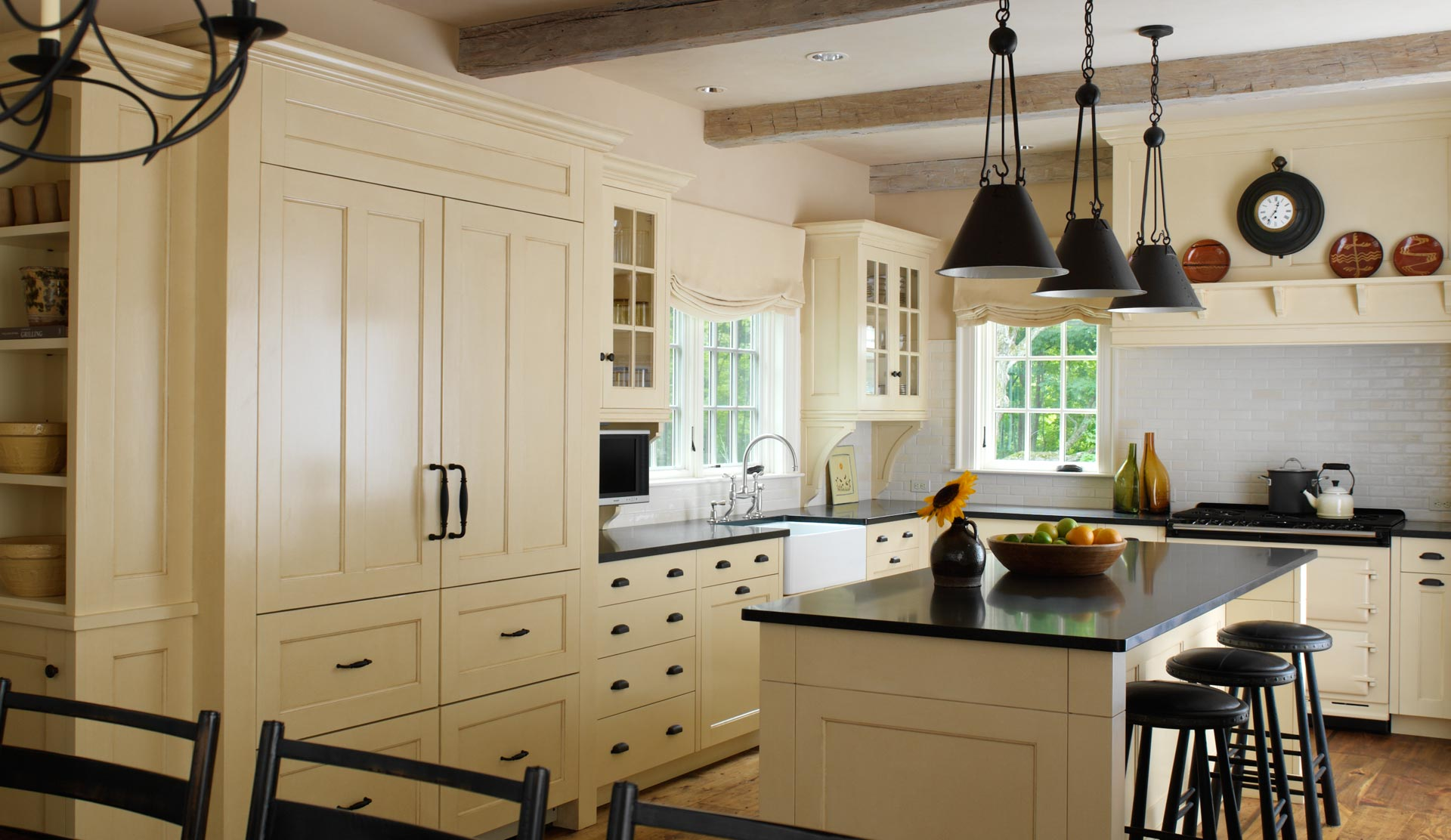 Kitchen Cabinet Colors To Paint Elizabeth Jahn Architecture Country House Interior